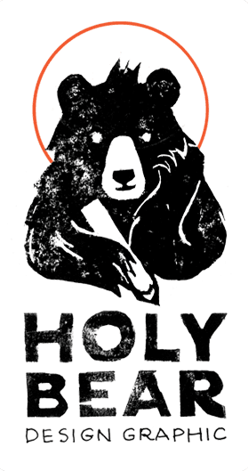logo Holy Bear Design Graphic